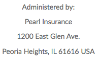Administered by Pearl Insurance