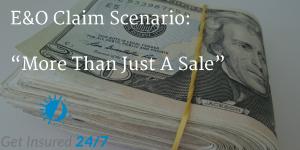 E&O Claim Scenario